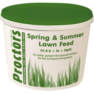 Proctors 5kg Spring and Summer Lawn Food