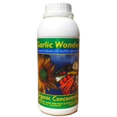 Garlic Wonder® 500ml concentrate, ORGANIC plant bio-stimulant