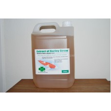 Extract of Barley Straw, removes algae & blanket weed, 1L treats up to 36,000Lts   1 x 5L