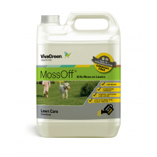 MossOff 5L kills moss on Lawns - Natural / Pet and Kid Safe