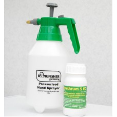 PYRETHRUM 5EC ORGANIC INSECT SPRAY FOR PLANTS LICE MITES, APHIDS 250ml +1.5L sprayer
