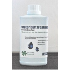 WATER BUTT TREATMENT STORED WATER TREATMENT